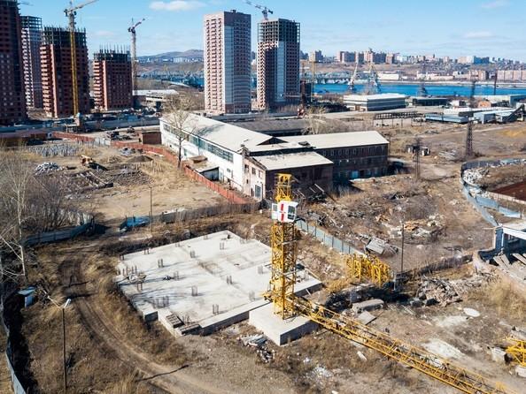 Фото Жилой комплекс ДВА БЕРЕГА, ж/к, Ход строительства 14 апреля 2019
