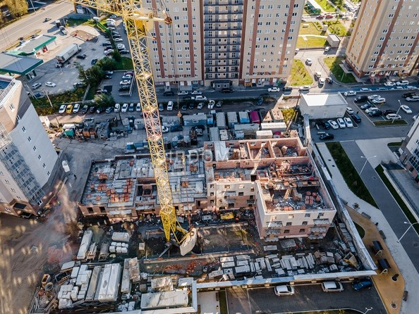 Ход строительства 14 сентября 2021
