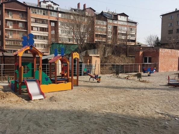 Фото Жилой комплекс МОСТ, Благоустройство придомовой территории. Детская площадка