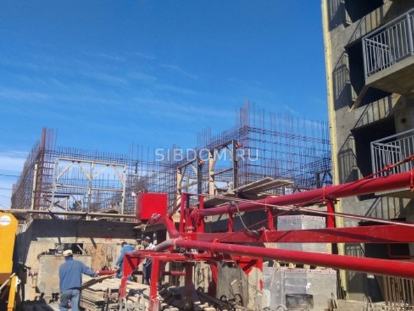 Фото Жилой комплекс РАДУЖНЫЙ мкр, 8 оч, 8 б/с, Ход строительства 21 мая 2018