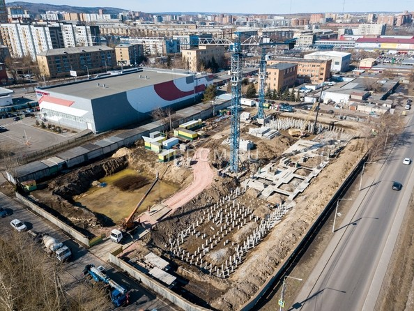 Фото Жилой комплекс НА ВЫСОТЕ, 1 этап, Ход строительства 7 апреля 2019
