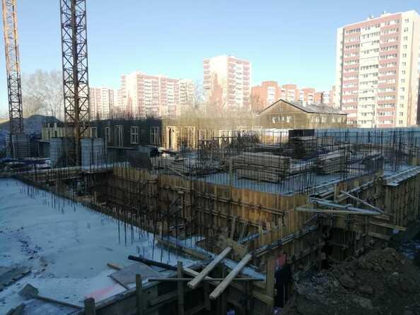 Ход строительства 26 октября 2020