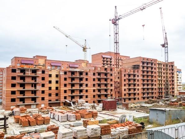 Фото Жилой комплекс СНЕГИРИ, дом 3, Ход строительства 12 октября 2017