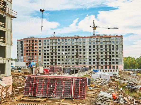 Фото Жилой комплекс СИМВОЛ, 3 очередь, б/с 12,13, Ход строительства 19 сентября 2019