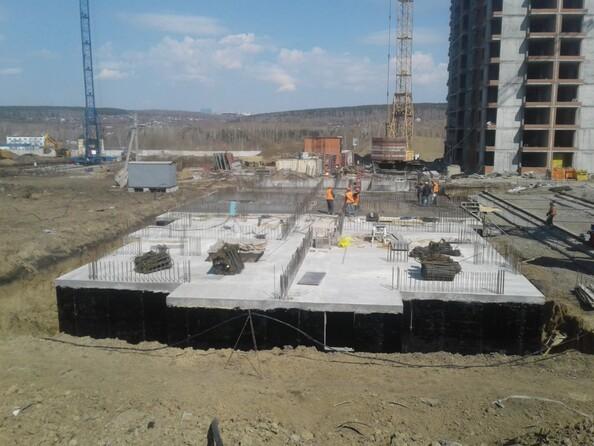 Фото СИБИРСКИЕ ПРОСТОРЫ, дом 1, корпус 2, Ход строительства май 2019
