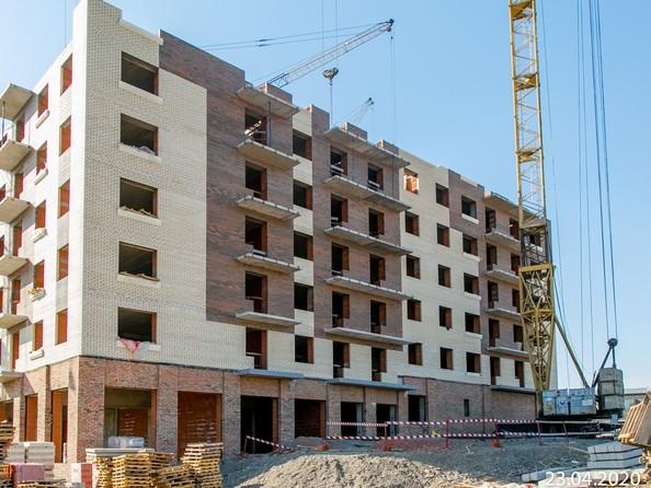 Ход строительства 22 апреля 2020