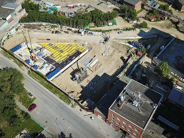 Фото Жилой комплекс НА ЕЛЬЦОВСКОЙ, дом 4, Ход строительства август 2019