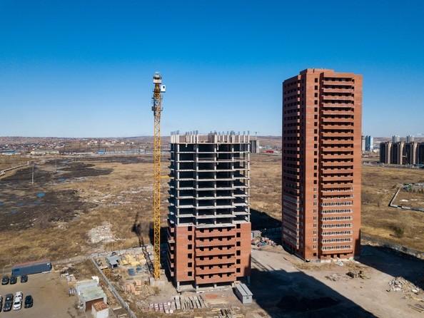 Фото КВАДРО, дом 1, Ход строительства 14 апреля 2019