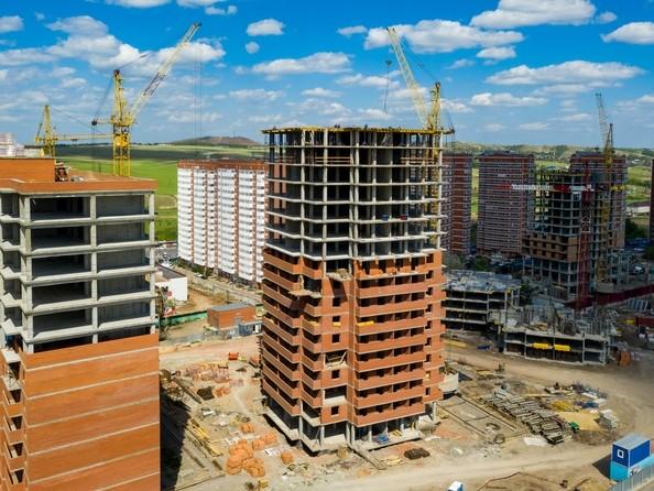 Фото Жилой комплекс ГЛОБУС ЮГ, дом 8, Ход строительства 14 июня 2019