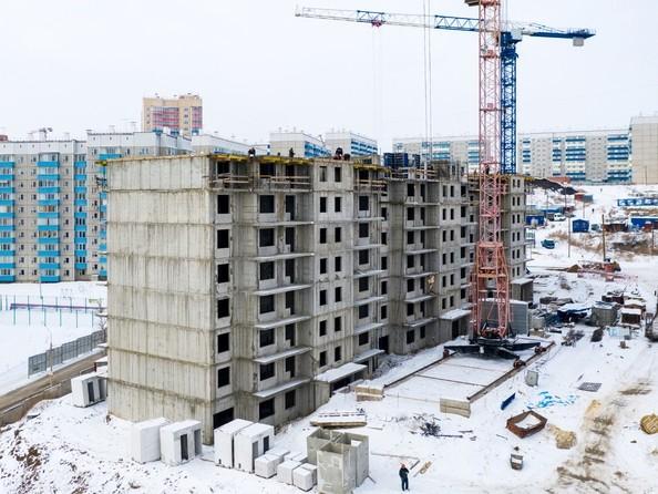 Фото Жилой комплекс Солнечный, 3 мкр, 2 квартал, дом 11, Ход строительства 20 февраля 2019