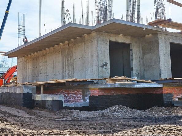 Фото Жилой комплекс КОРИЦА, дом 1, Ход строительства 22 апреля 2019