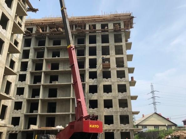 Ход строительства 2 августа 2019