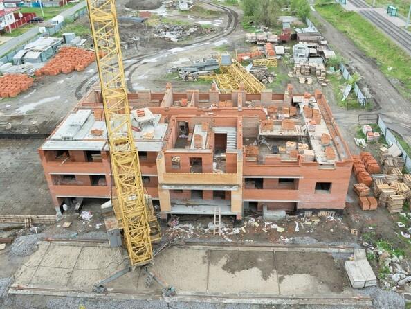 Фото Жилой комплекс ЛЮБИМЫЙ, дом 7, Ход строительства май 2019
