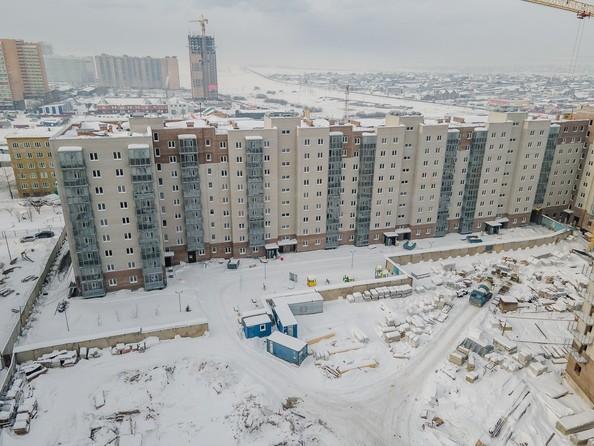 Ход строительства 22 февраля 2021