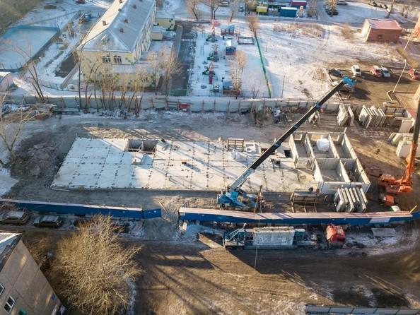 Фото КОЛИБРИ , Ход строительства 25 января 2019