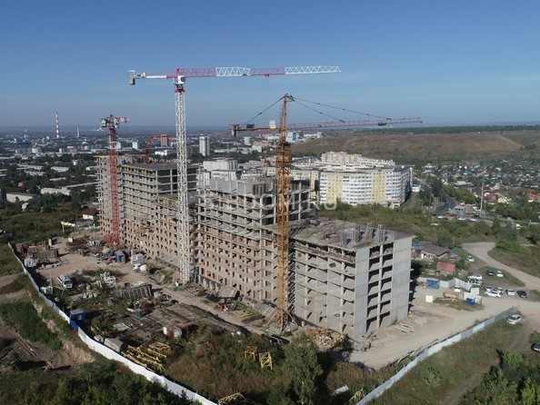 Фото строительства сентябрь 2021