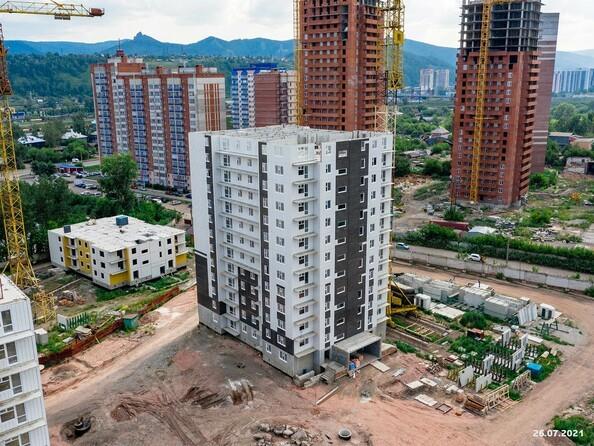 Ход строительства 26 июля 2021