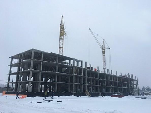 Фото Жилой комплекс МАТРЁШКИ, дом 3, Ход строительства ноябрь 2018