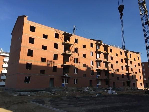 Блок 6. Ход строительства сентябрь 2018