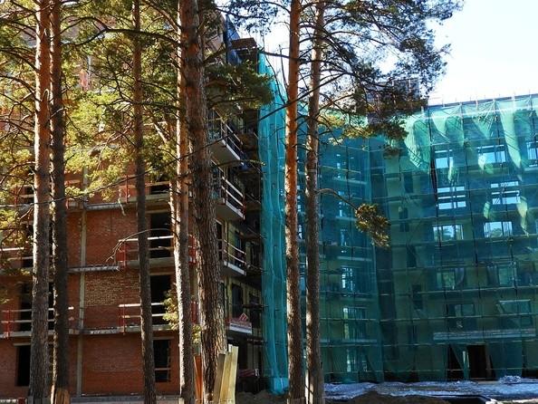 Фото Жилой комплекс Эко-квартал Flora&Fauna (Флора и Фауна), блок Д, Ход строительства апрель 2019