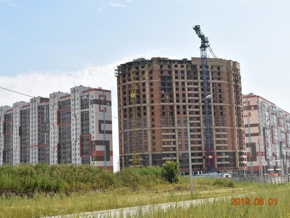 Фото Жилой комплекс ПРИОЗЕРНЫЙ, дом 2, Ход строительства август 2019