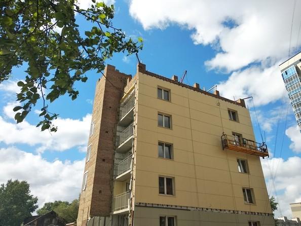 Фото Жилой комплекс ТИХВИНСКИЙ КВАРТАЛ (Степная,42), Ход строительства июнь 2019