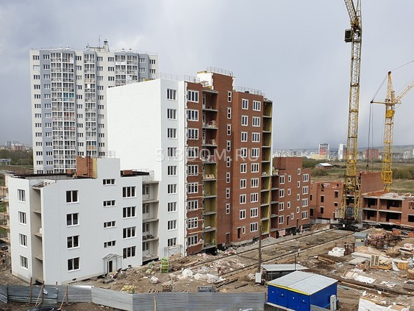 Фото ТОМЬ, дом 15, корпус 1, Ход строительства май 2019