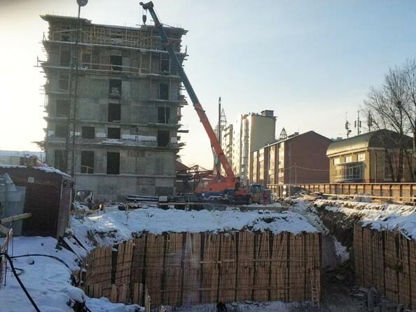 Фото Жилой комплекс ВДОХНОВЕНИЕ, Ход строительства январь 2019