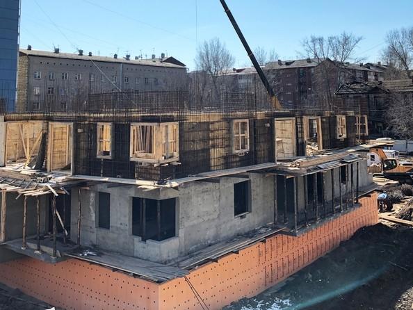 Фото Жилой комплекс НОВЫЕ ГОРИЗОНТЫ НА ПУШКИНА, б/с 1, Ход строительства 2 апреля 2019