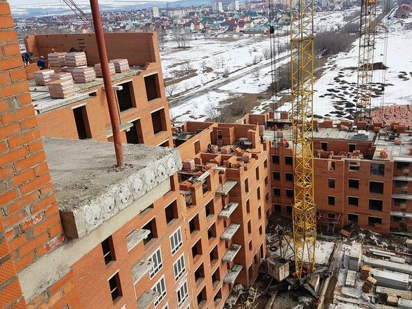 Фото Жилой комплекс ВЕРХНИЙ БУЛЬВАР, дом 3, Б/С «В» и «Г», апрель 2018