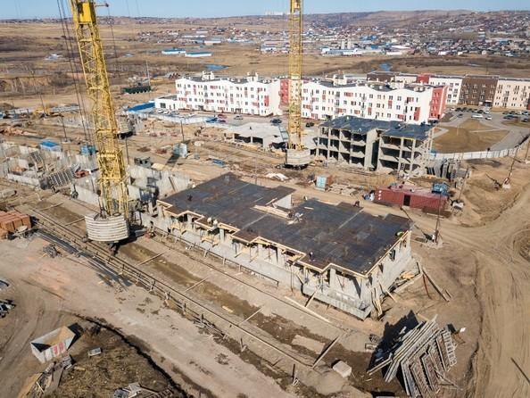 Фото Жилой комплекс ЖИВЁМ эко-район, 3 квартал, дом 3, Ход строительства 7 апреля 2019