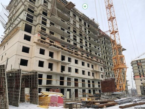 Ход строительства 23 декабря 2020