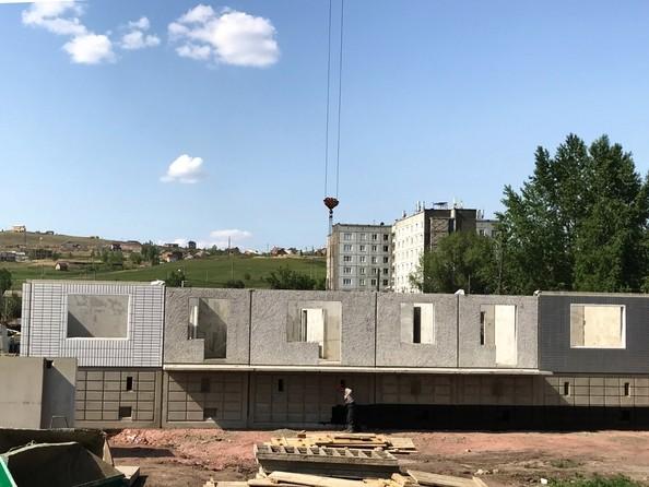 Фото Жилой комплекс КАЛИНА, дом 2, стр 1, Ход строительства 6 июня 2019