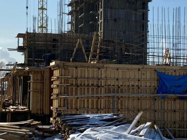 Блок-секция 5. Ход строительства 4 марта 2021