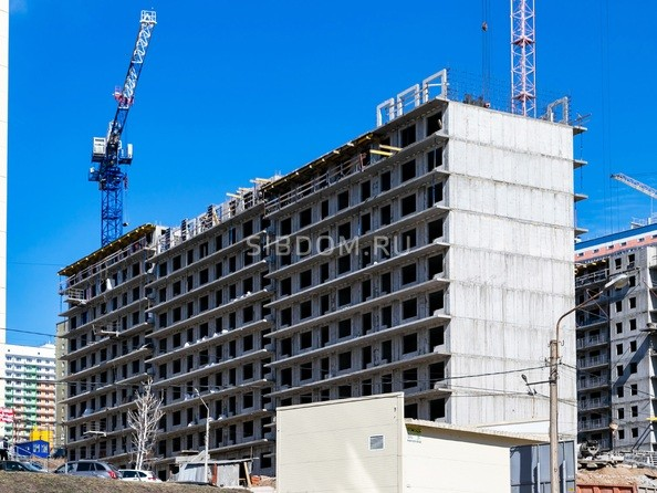 Фото Жилой комплекс Солнечный, 3 мкр, 2 квартал, дом 11, Ход строительства 14 апреля 2019