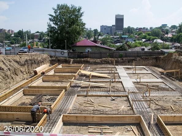 Ход строительства 26 июня 2020