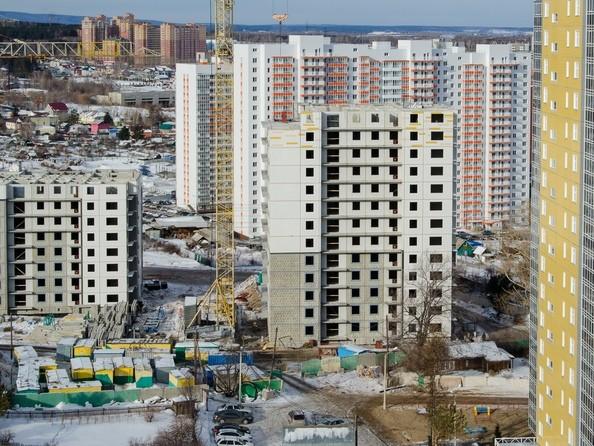 Фото Жилой комплекс КУРЧАТОВА, дом 8, стр 1, Ход строительства 16 февраля 2019