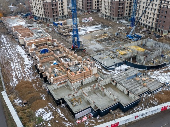 Ход строительства 3 ноября 2020