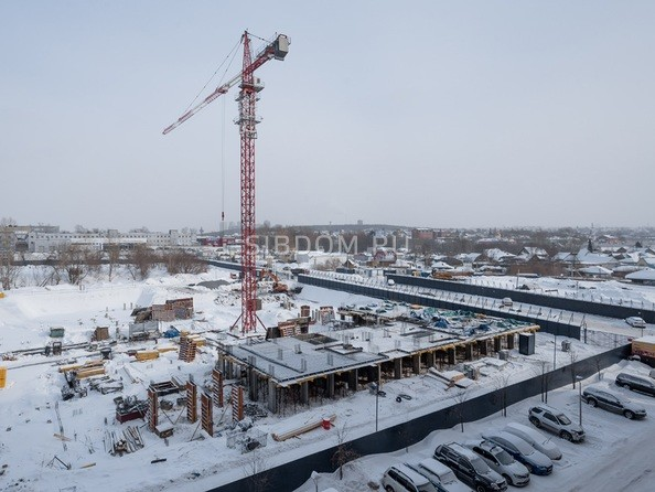 Ход строительства февраль 2021