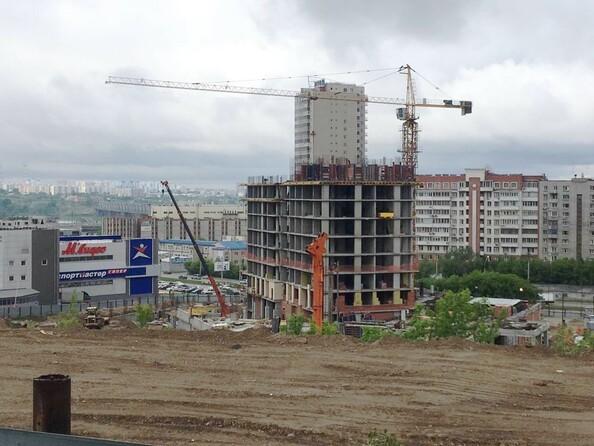 Фото Жилой комплекс АКАДЕМИЯ, 1 корпус, Ход строительства июнь 2019