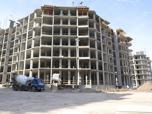 Ход строительства 20 апреля 2020