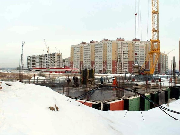 Фото Жилой комплекс КУЗЬМИНКИ, дом 1, Ход строительства январь 2019