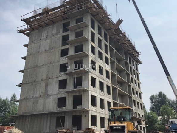 Фото Жилой комплекс КОРИЦА, дом 2, Ход строительства 2 августа 2019