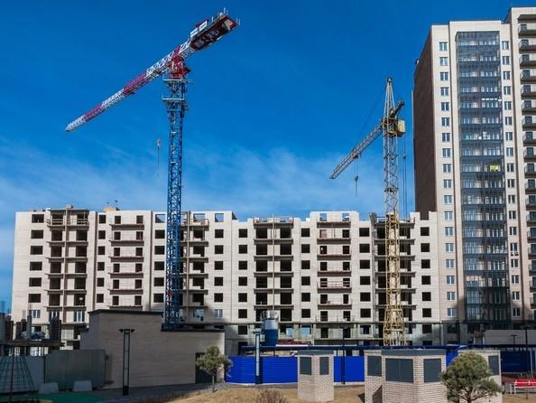 Фото Жилой комплекс SKY SEVEN, б/с 8, 2 оч, Ход строительства 16 апреля 2017