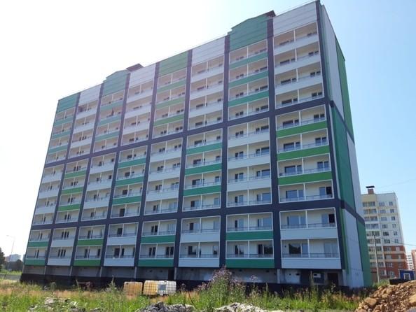 Фото Жилой комплекс ЮНОСТЬ, дом 2, Ход строительства август 2019