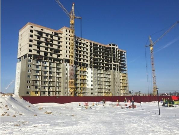 Фото МАТРЕШКИН ДВОР 95/4, дом 1, 1,2 б/с, Ход строительства февраль 2019