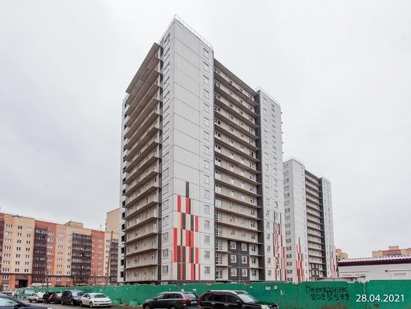 Ход строительства 27 апреля 2021