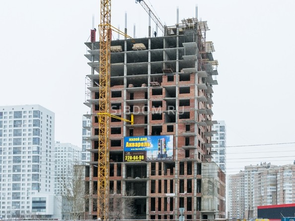 Фото Жилой комплекс АКВАРЕЛЬ, Ход строительства 27 декабря 2017