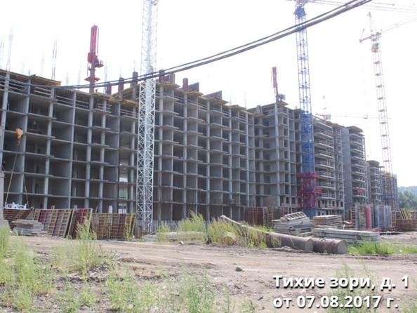 Фото Жилой комплекс ТИХИЕ ЗОРИ, дом 1 (Красстрой), Ход строительства 7 августа 2017