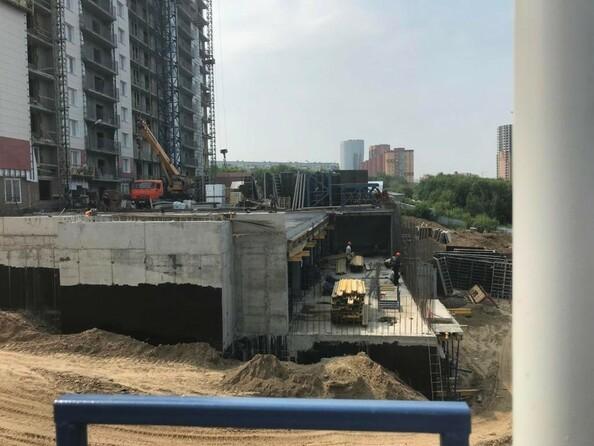 Ход строительства 6 августа 2019